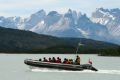 Boat trip from Torres del Paine to Puerto Natales